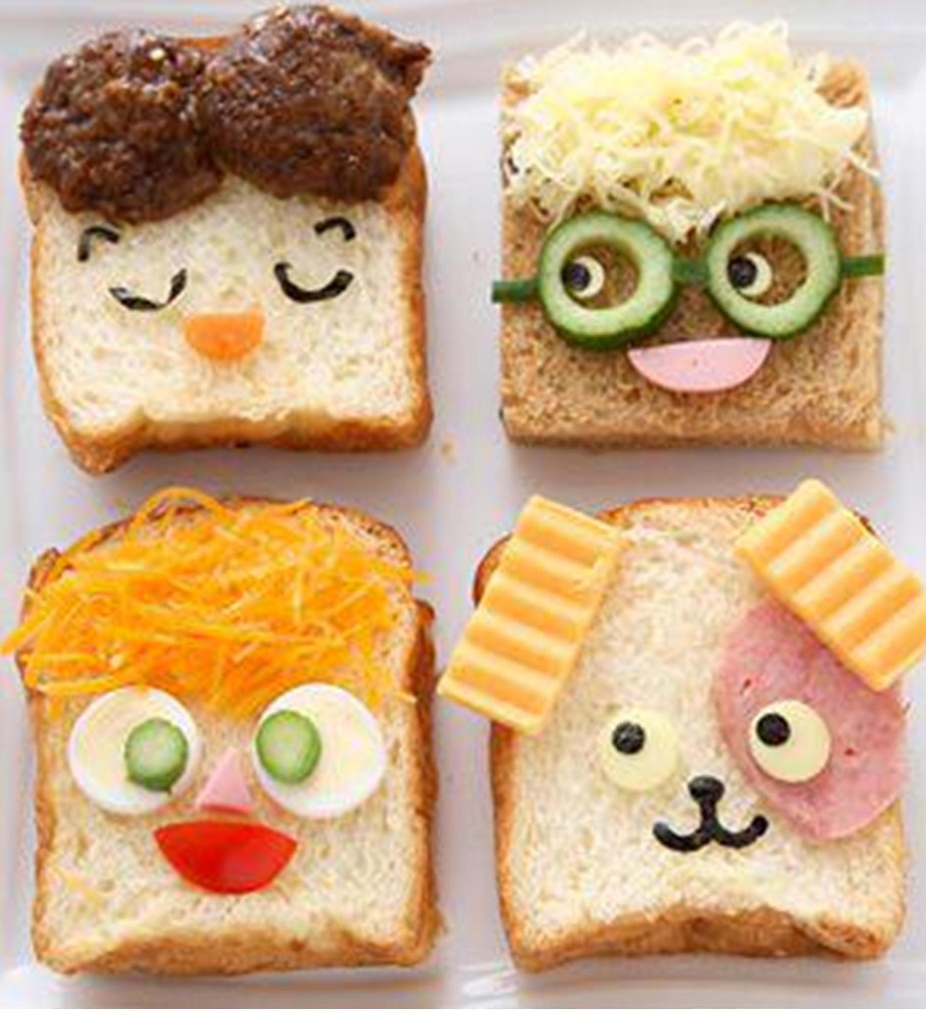 Бутерброд прикольные картинки