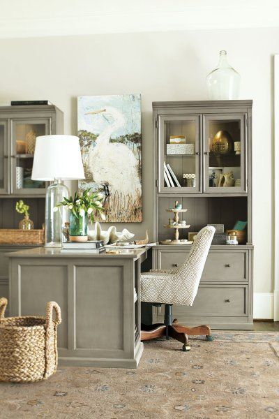 Office Decorating Ideas in 2020 Home office design, Home