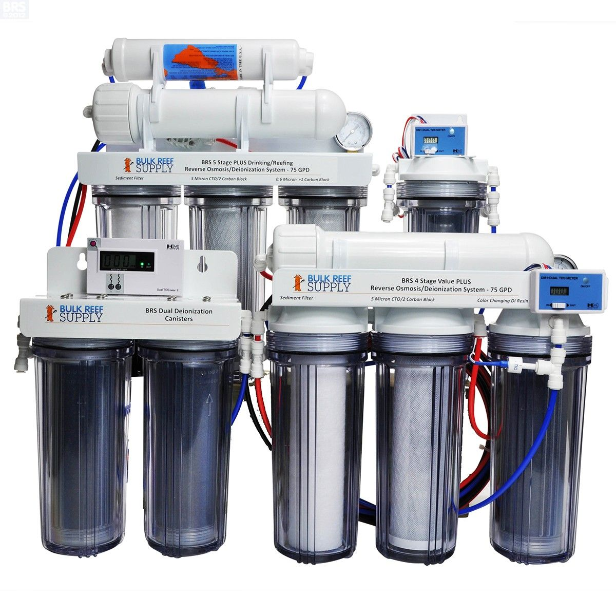 Build Your Own Reverse Osmosis System - Bulk Reef Supply