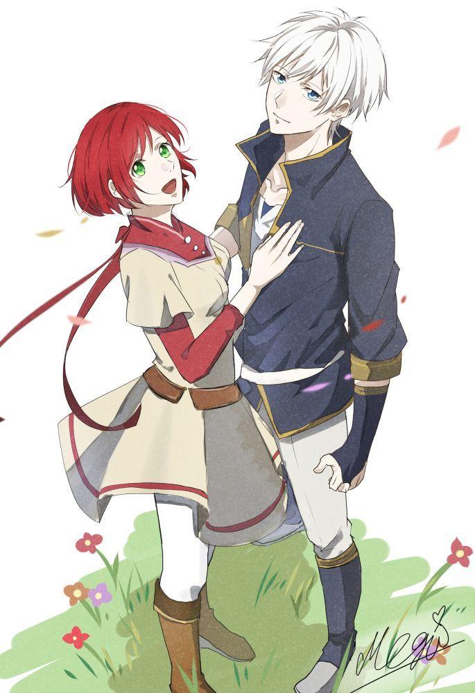 My Saves Akagami No Akagami No Shirayukihime Snow White With The Red Hair