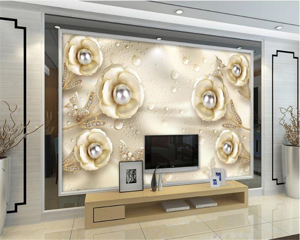 Beibehang Custom 3D wallpaper living room bedroom murals Jane ...