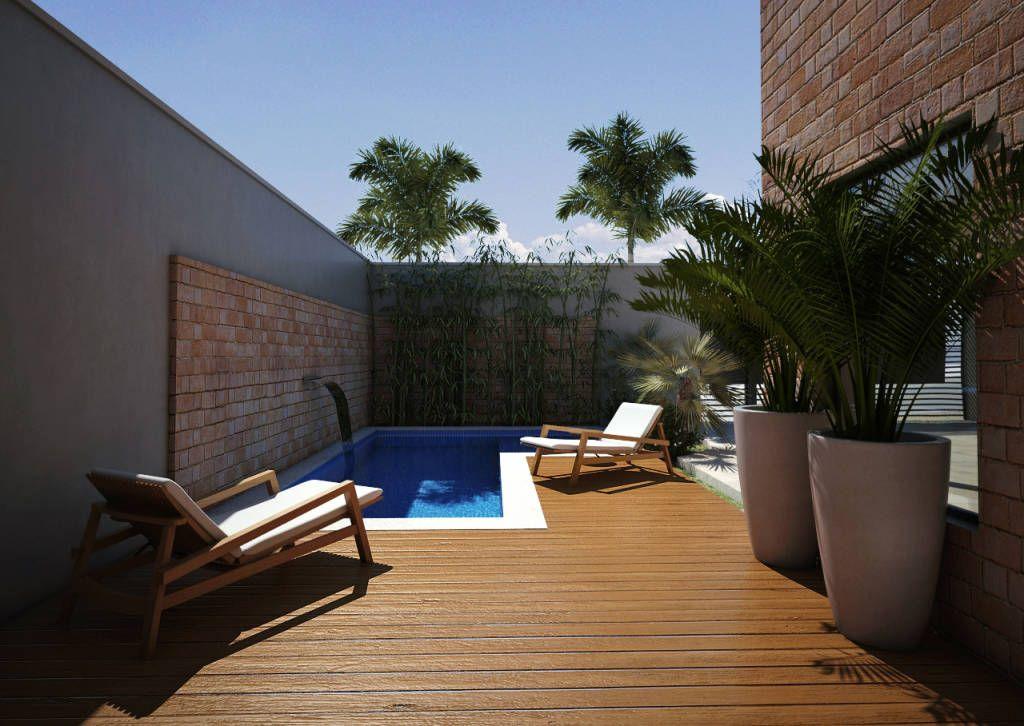 Casa bt piscinas por loz projeto e obra piscinas for Fotos de piscinas modernas en puerto rico
