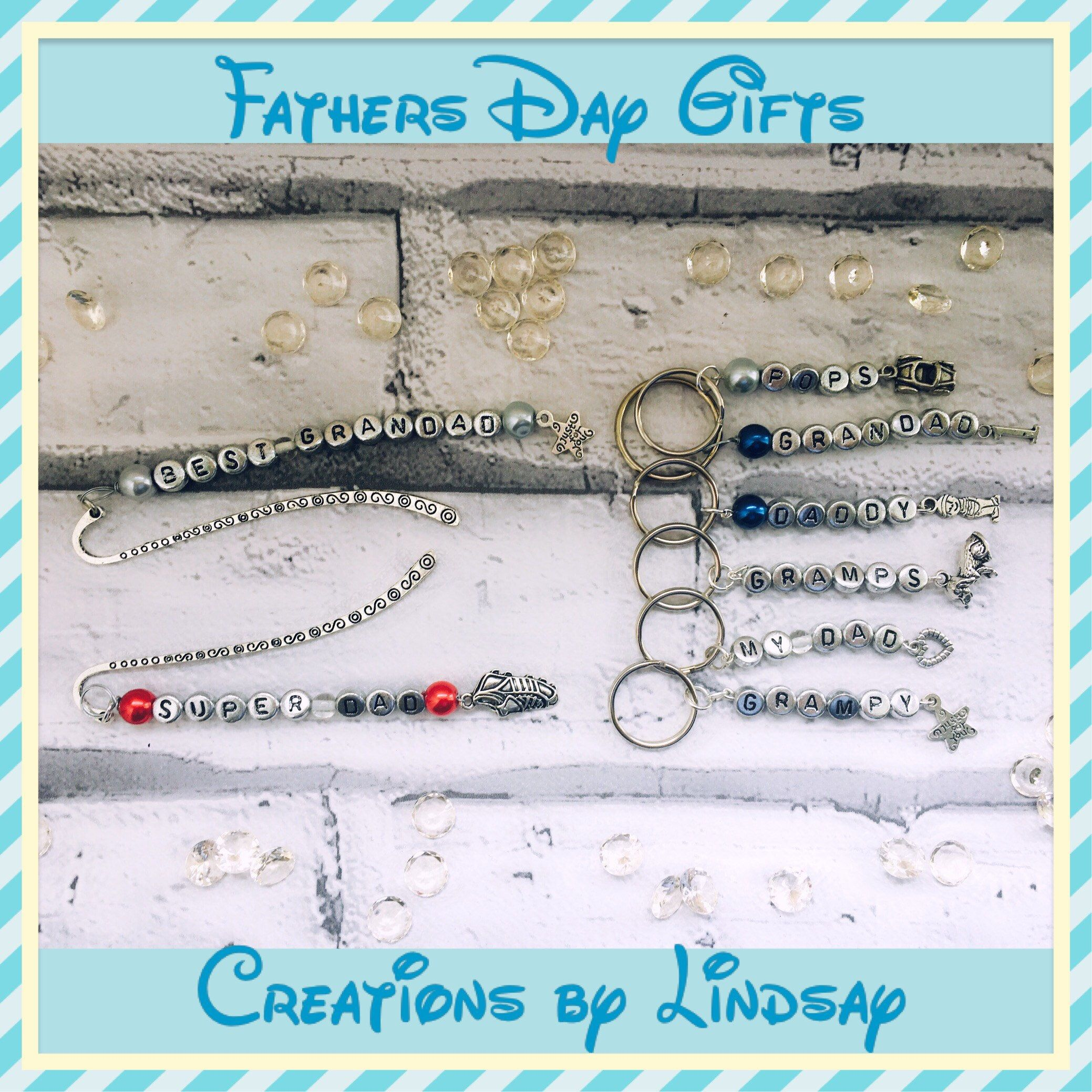fathers day bookmarks super dad gifts super dad keyrings gifts