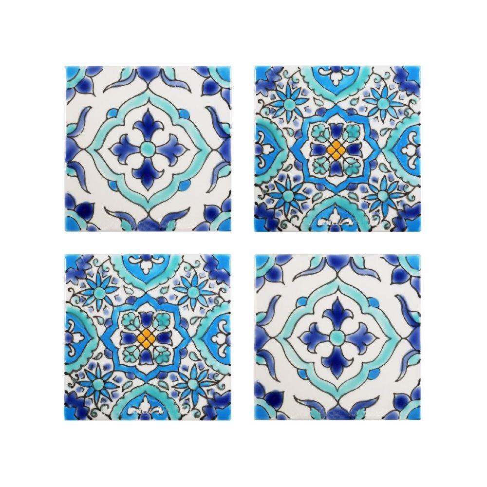 Mediterranean Tiles Kitchen: Mediterranean Tile Coasters