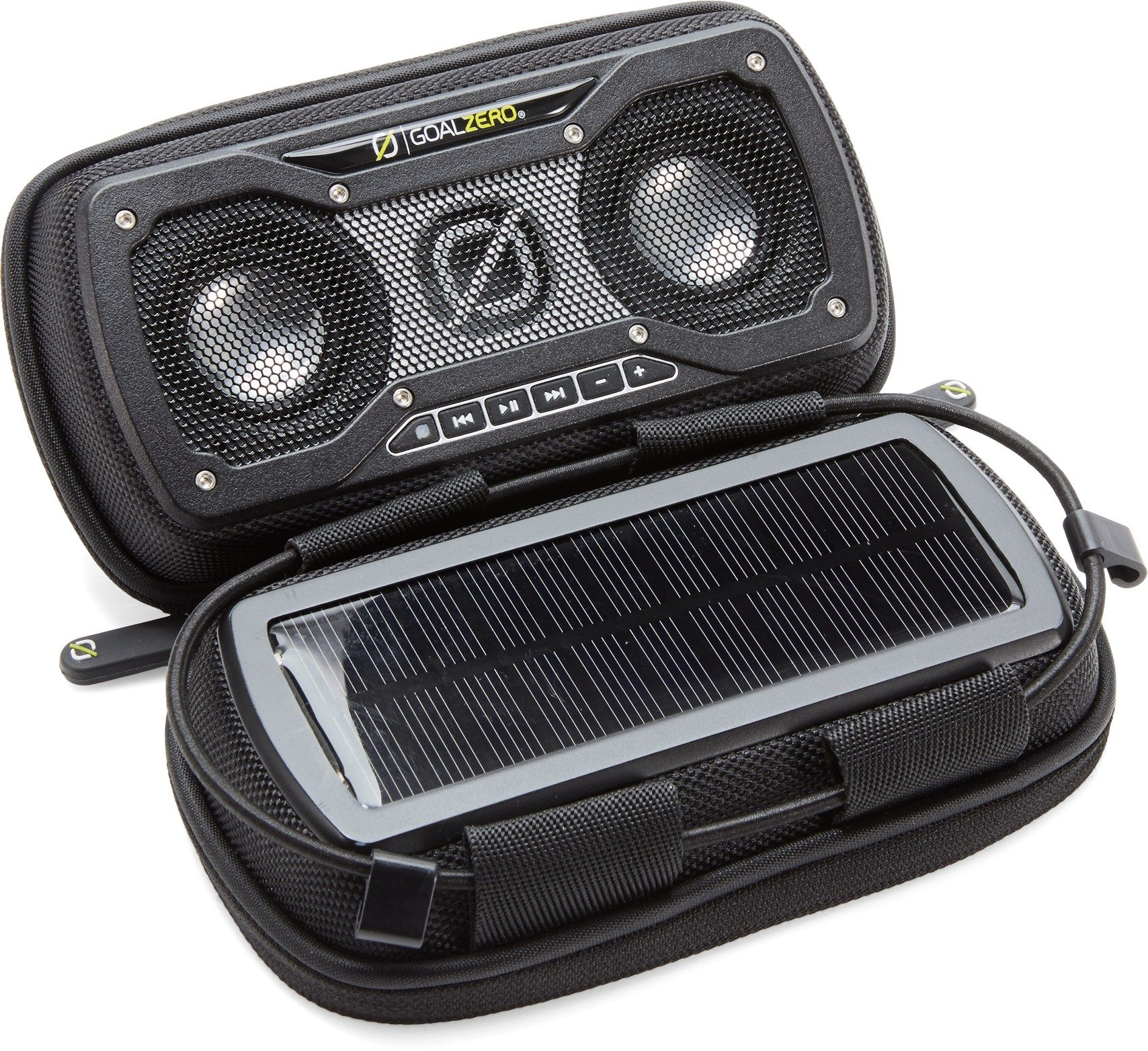 Goal Zero Rock Out 2 Solar Portable Speaker Rei Co Op Goal Zero Tent Glamping Camping Accessories