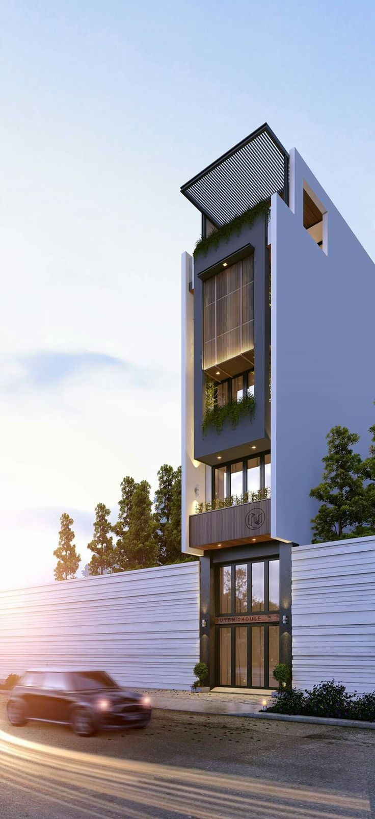 Apartment Facade ~ Great pin! For Oahu architectural design visit ...