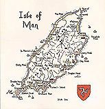 NEW HERITAGE ISLE OF MAN MAP CROSS STITCH KIT 14 COUNT
