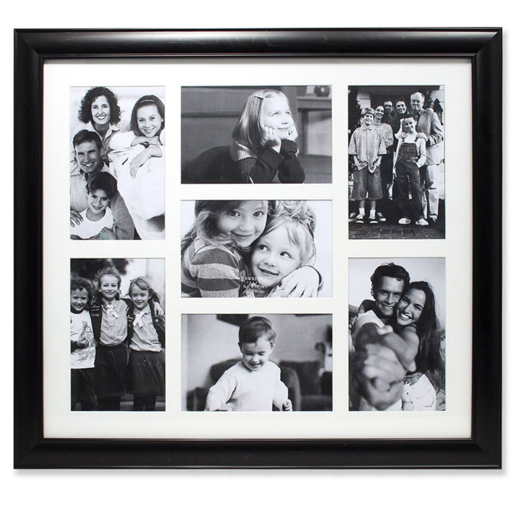 Lawrence Frames Black Collage 7 Picture Frame - 536046M   Products