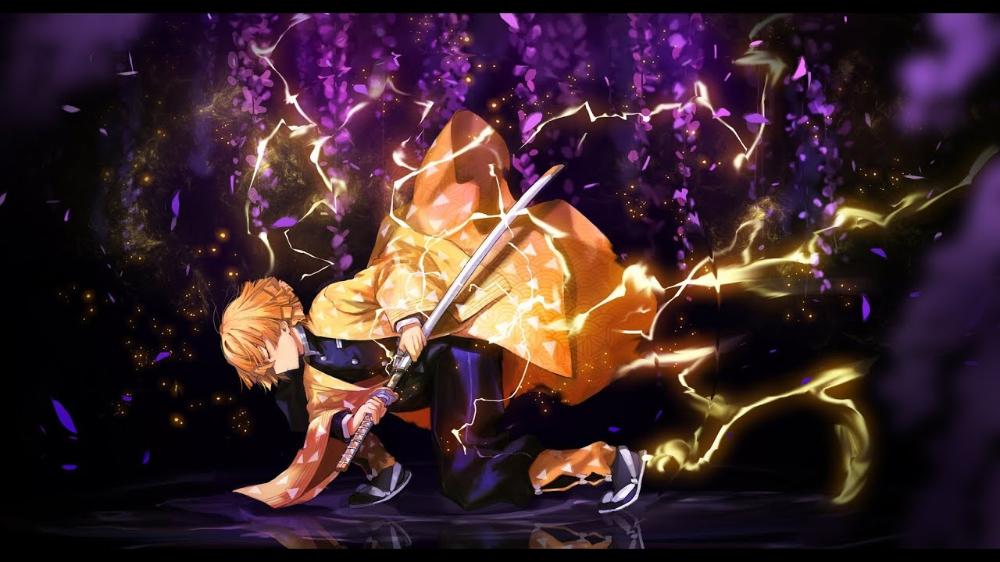 雷 の 呼吸 壱 の 型 霹靂 一閃