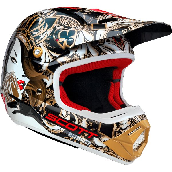 Scott Gambler Mx Helmet Helmet Helmet Design Dirt Bike Helmets