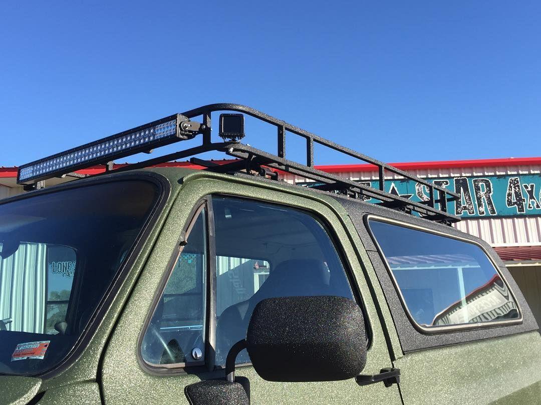 Custom Vehicle Roof : Blazer with custom bumpers rigid ir led lights and
