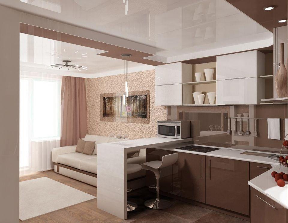 смотреть фото кухни в квартире студии фишка данной гитары