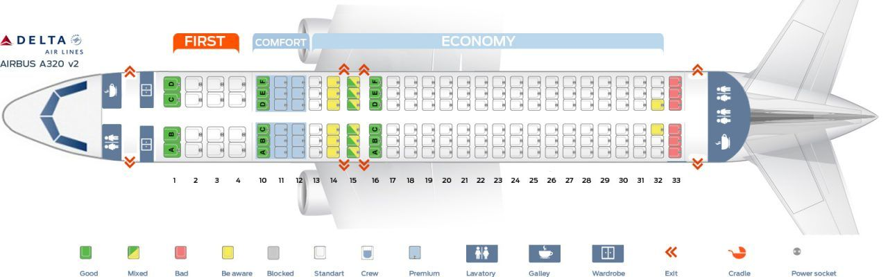 Delta Seating Chart By Flight Number