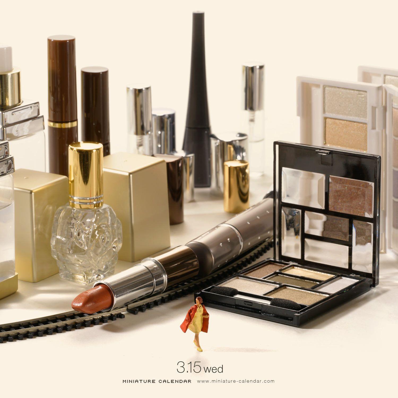 Concept art Makeup City Miniature Calendar