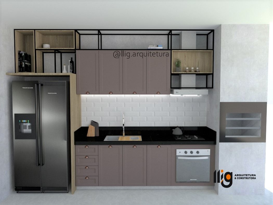Cozinha Espaco Gourmet Kitchen Kitchen Cabinets Decor
