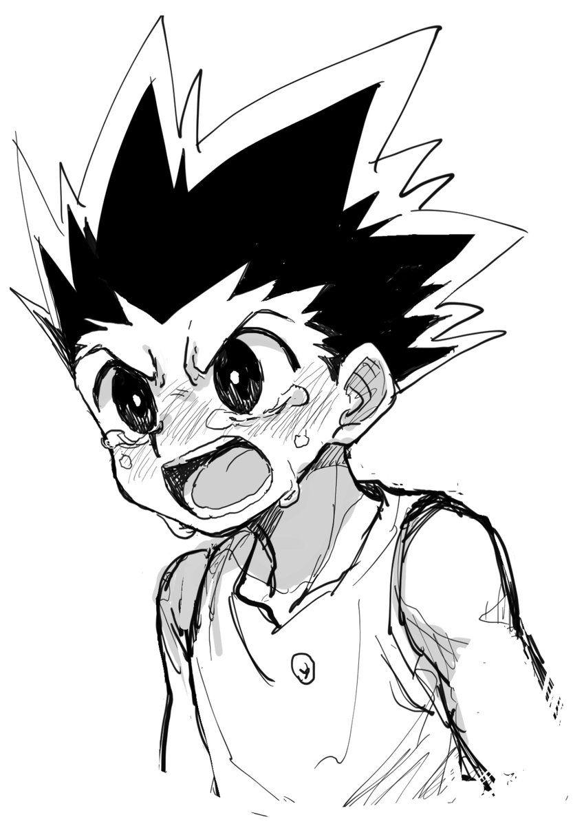 Gon Freecs Hunter x Hunter | Dessin, Dessin manga, Dessin animé