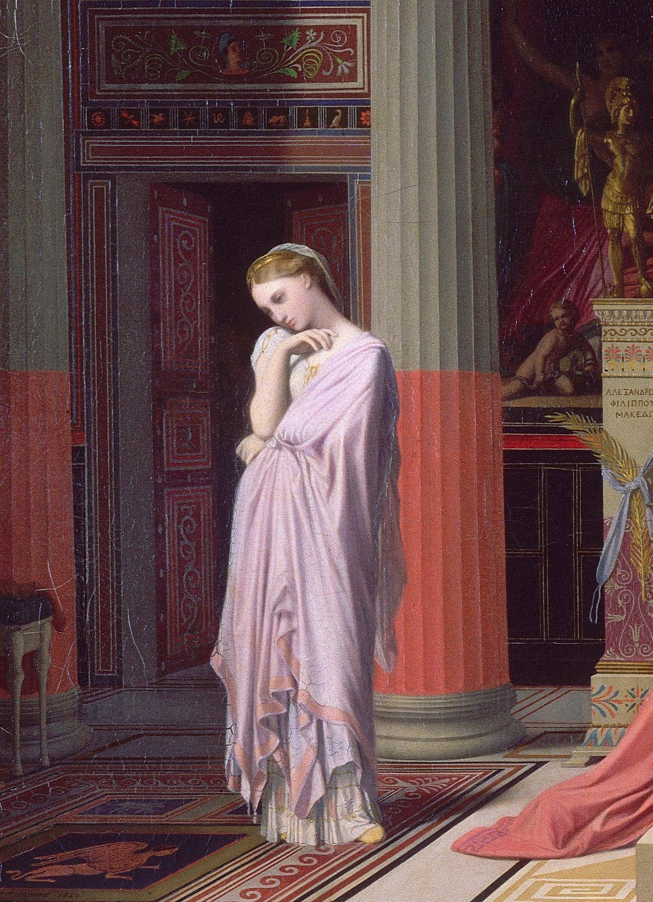 La Clef Des Cœurs 1840 Jean Auguste Dominique Ingres S