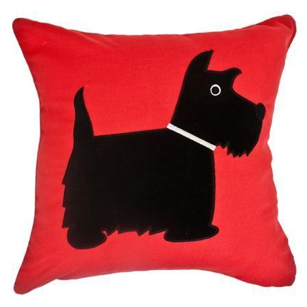 Rosenthal Scottie Dog Cushion