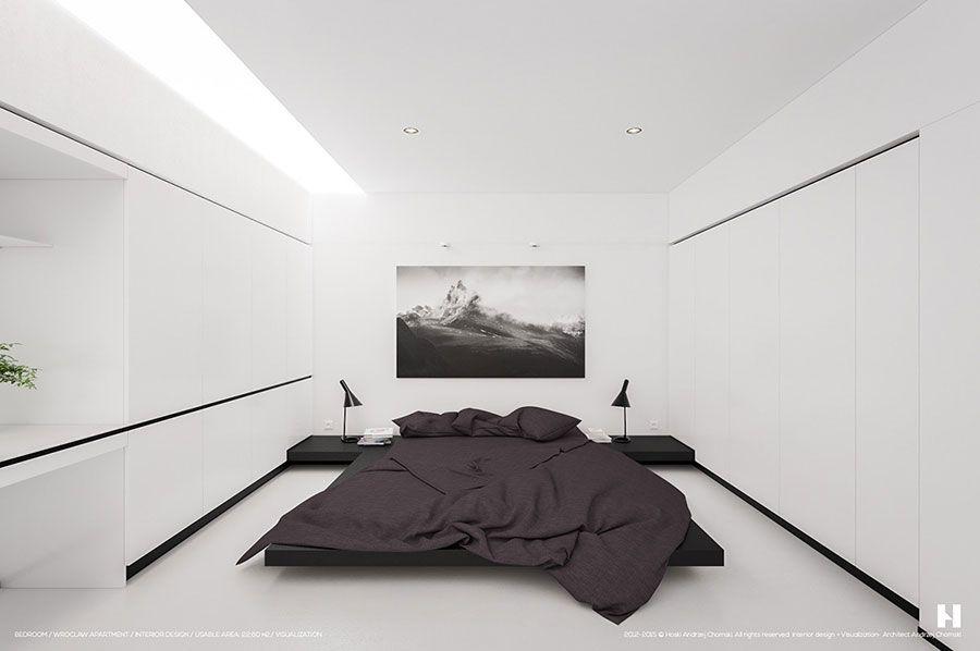 Camere da letto minimal: 30 idee di arredamento essenziale camere