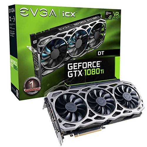 Review Evga Nvidia Geforce Gtx 1080 Ti Ftw3 Dt Gaming 11gb Gddr5x Dvi Hdmi 3displayport Pci Express Video Card W Icx 9 Thermal Sensors Rgb Led G P M Gra