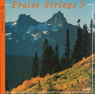 Maranatha! Praise Strings 5  Digipak  CD 2012 Calvary Chapel Music * MINT *