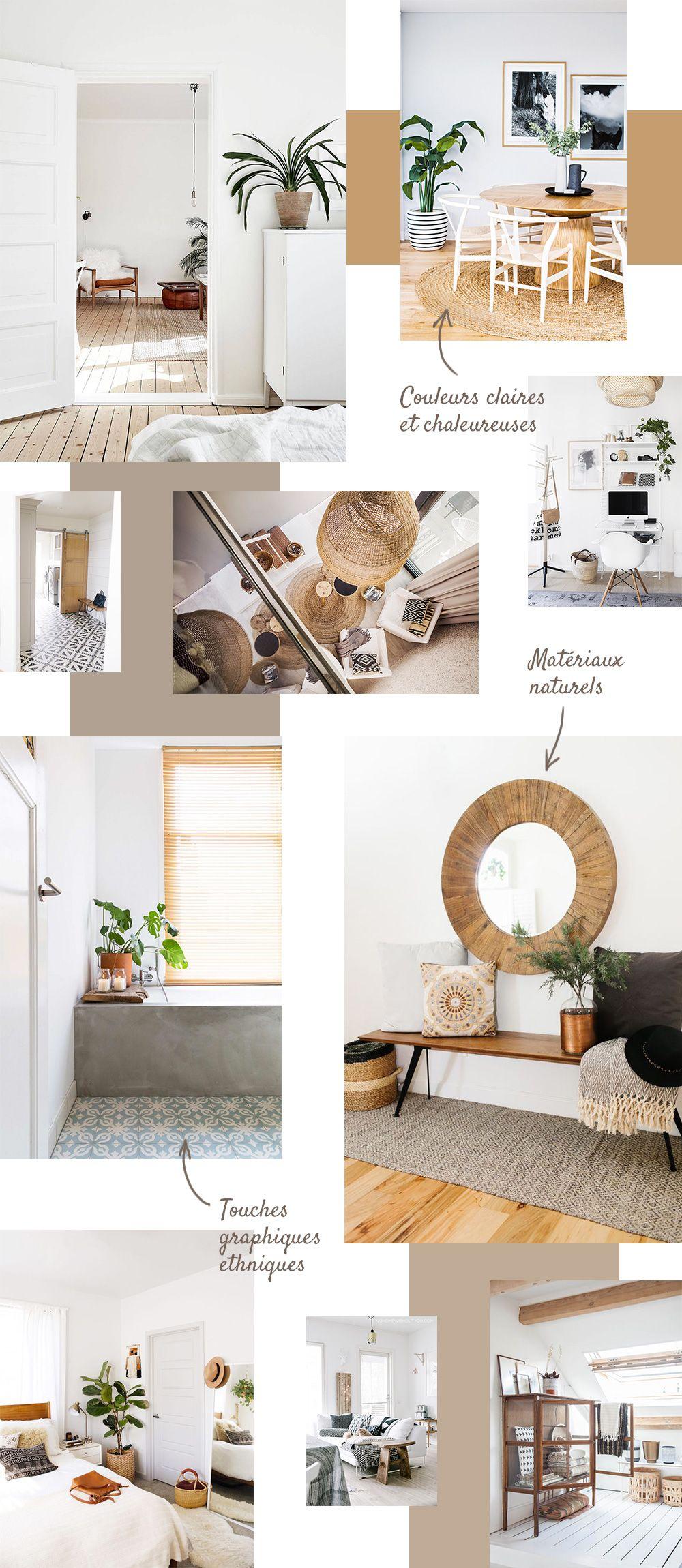 Inspiration D Co Nature Et Boh Me Salons Inspiration And Interiors