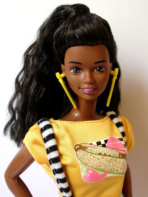 The wild world of Barbie collection – Beauty and Race in ... |Christie Barbie Doll