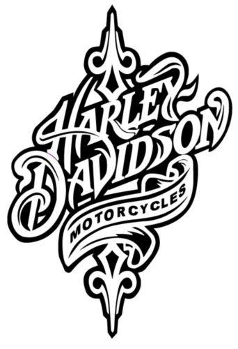 Harley Davidson Logo Flames Coloring Pages Free Download Oasis Dl Co