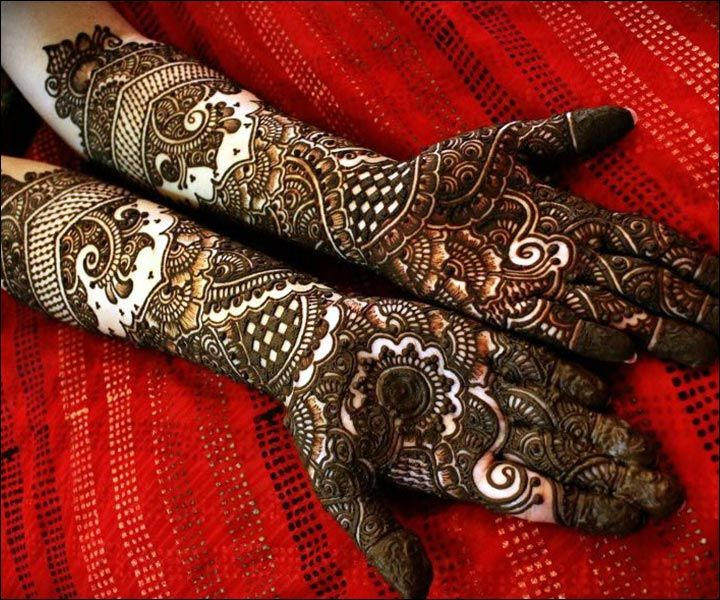 Mehndi Free Hand : Wedding mehndi designs full hand design free download