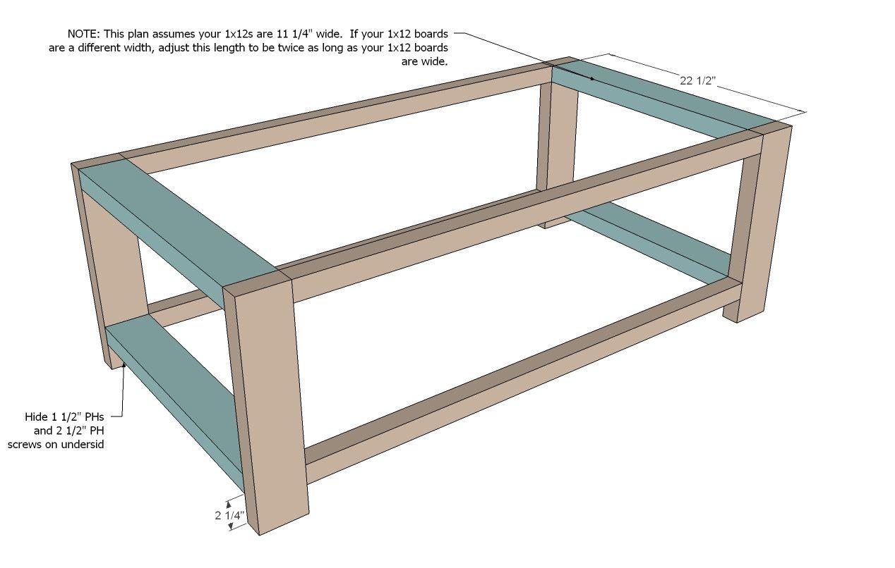 Rustic X Coffee Table Diy Coffee Table Plans Diy Farmhouse