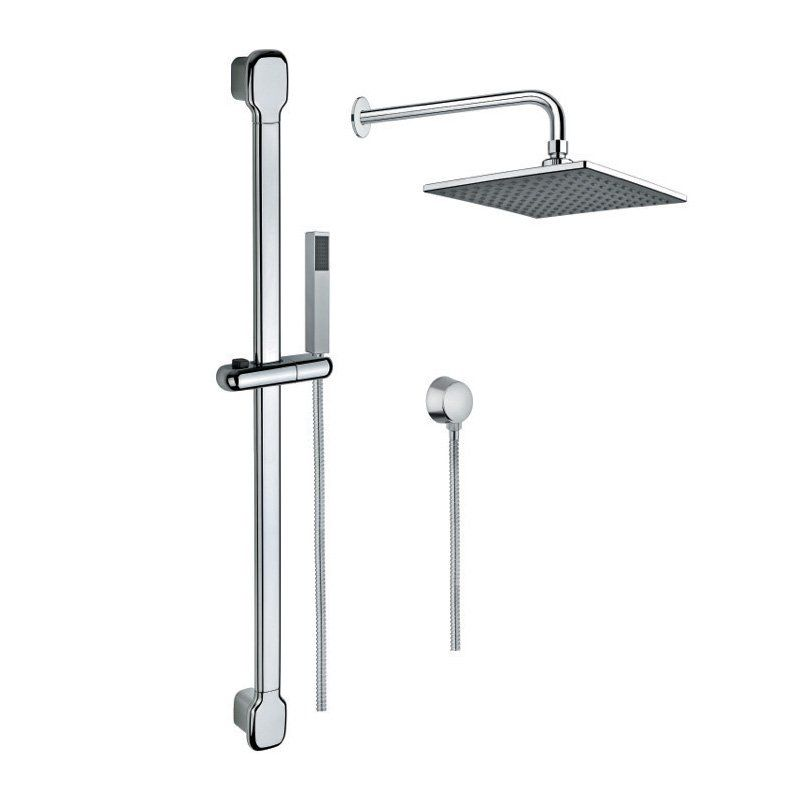 Gedy Thermostatic Shower Column.Nameeks Gedy Sup1006 Superinox Wall Mounted Shower Column