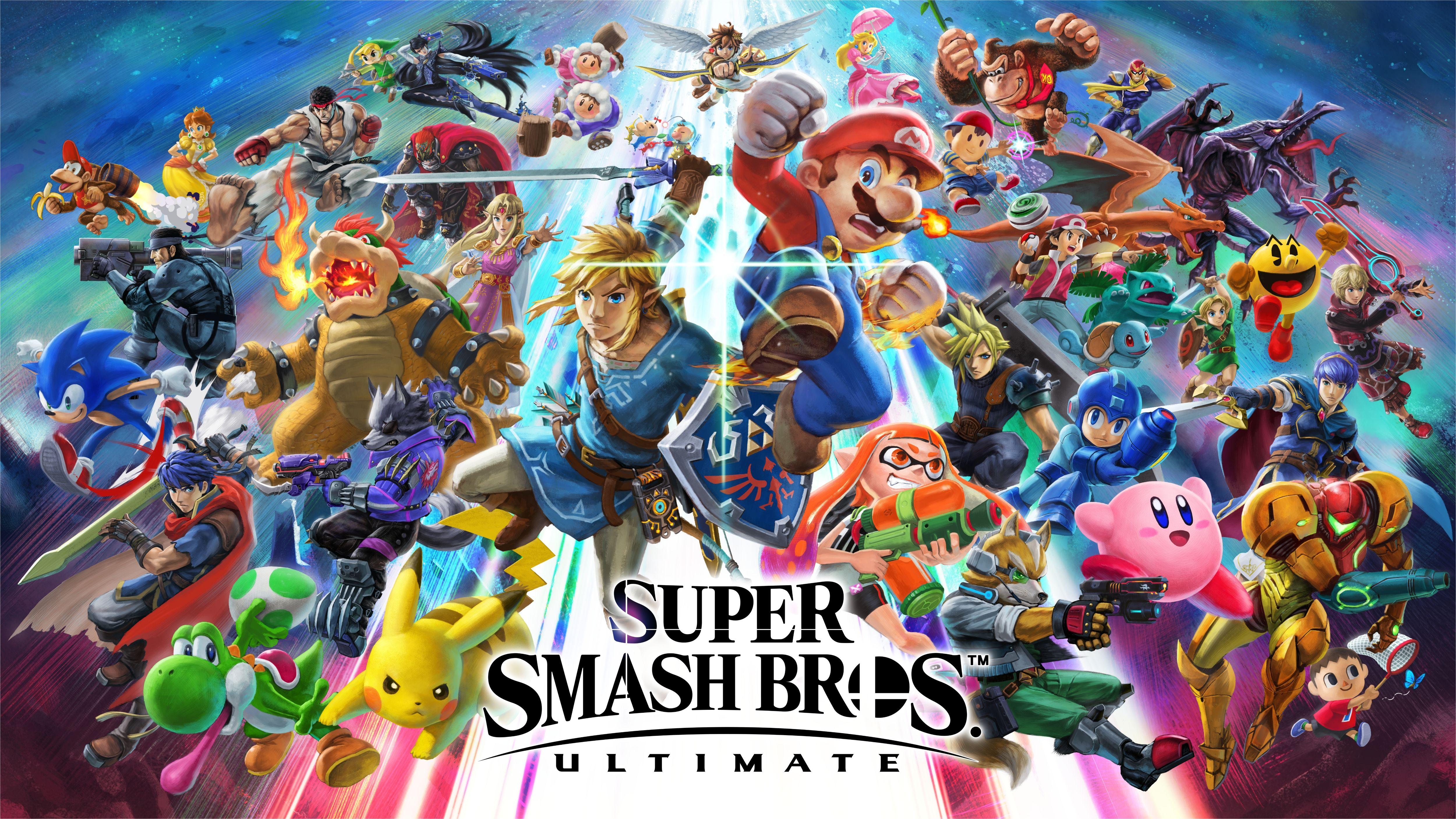 High Resolution Smash Bros Ultimate Artwork Super Smash Bros Super Smash Brothers Smash Brothers
