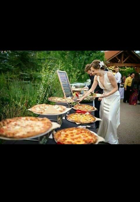 Lasting Impressions One Of Our Preferred Caterers Has A Mobile Brick Oven They Bring To Weddings Its Amazing