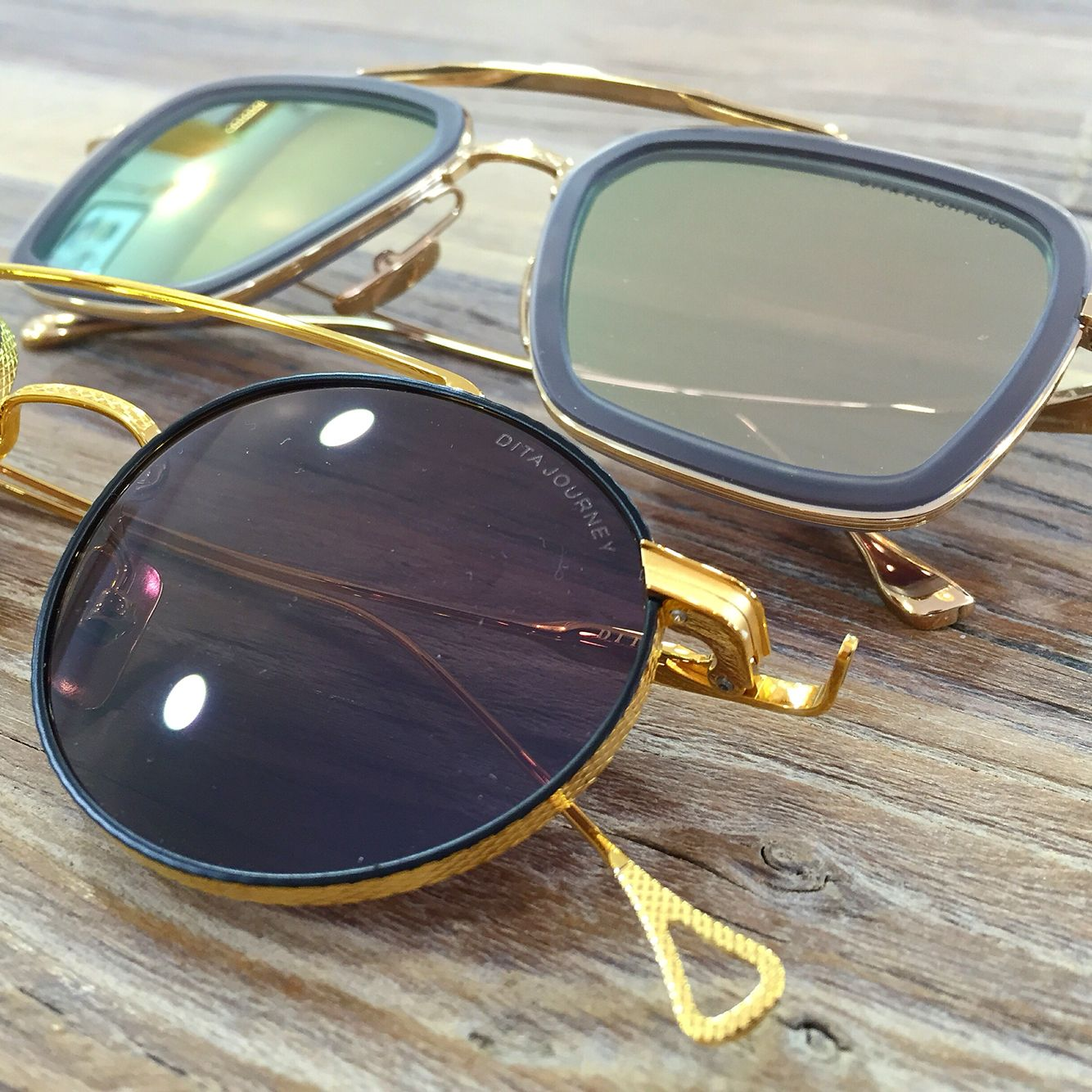 bb226114adc Arrivage Dita du jour   au menu la Journey 18k et la Flight 006 12k   sunglasses  handmade  japan  design  usa
