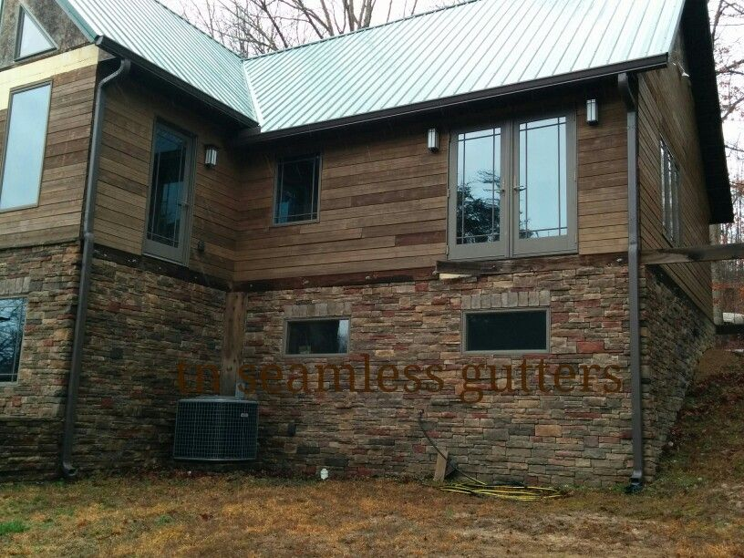 Musket Brown Aluminum Soffit Fascia 6 Quot Gutters And
