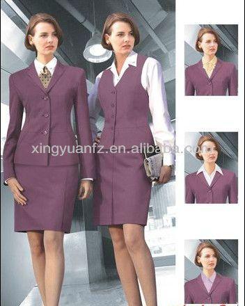 New Office Uniform Designs For Airline Lady Women 68 8 75 8 Corporate Attire Spa Wear Hotel Uniform