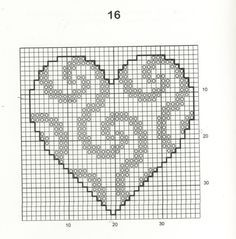 Photo of Cross Stitch Craze: 30 Free Easy Heart Cross Stitch Patterns