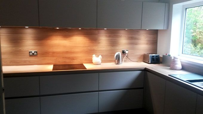 Schuller Biella Satin Lacquer Sand Grey For Our Customer In Macclesfield German Kitchens Specialist Kitchen Inspirations Kitchen Layout Modern Kitchen Design