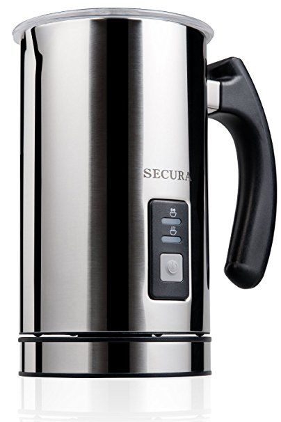 Secura Automatic Electric Milk Frother and Warmer 2-YEAR Warranty