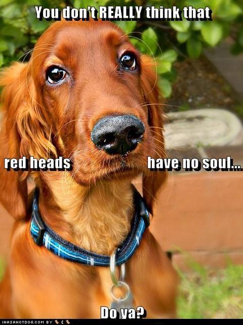 Gingers got soul awwwww