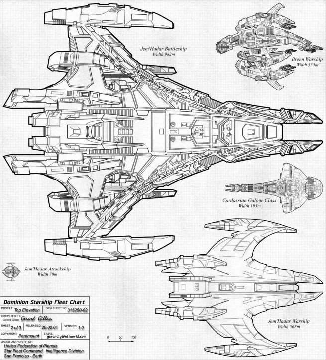 Here Are Some Schematics Created By Gilso Space Ships