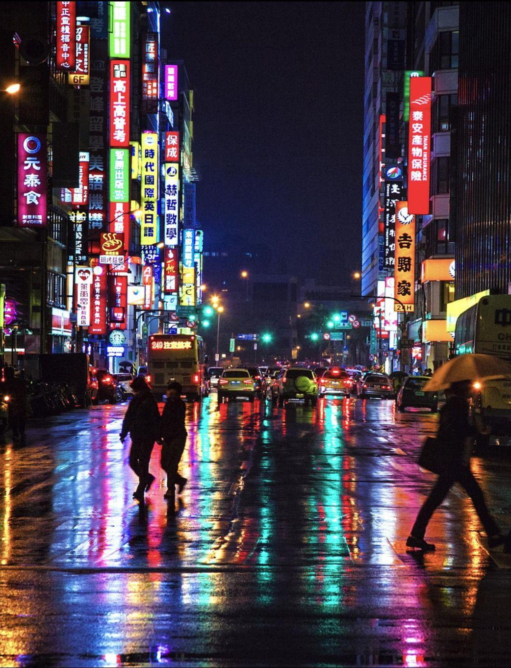 Walking In The City By Hanson Mao Taipei Taiwan C