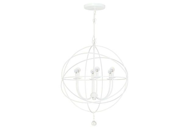 Linear Globe Bath Light: Hard To See, But Same As The Other Globe Lights- Gloss