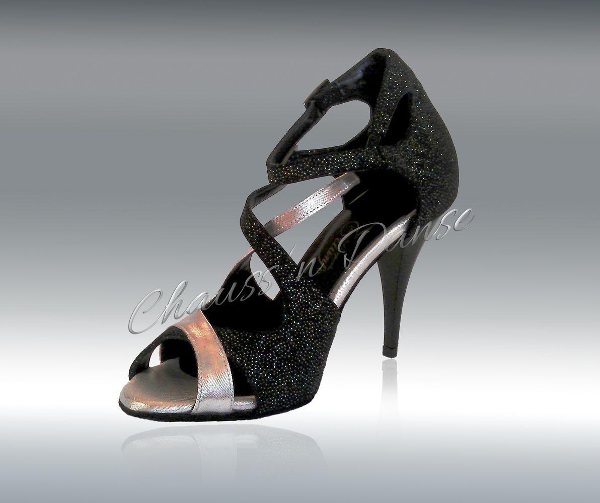 artisanat exquis premier taux 2019 real Chaussures de danse modèle BUTTY, talon de 7 ou 9cm, semelle ...