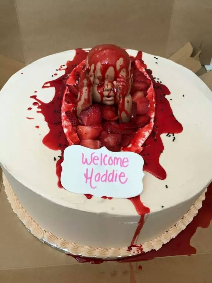 The Miracle Of Childbirth Cake