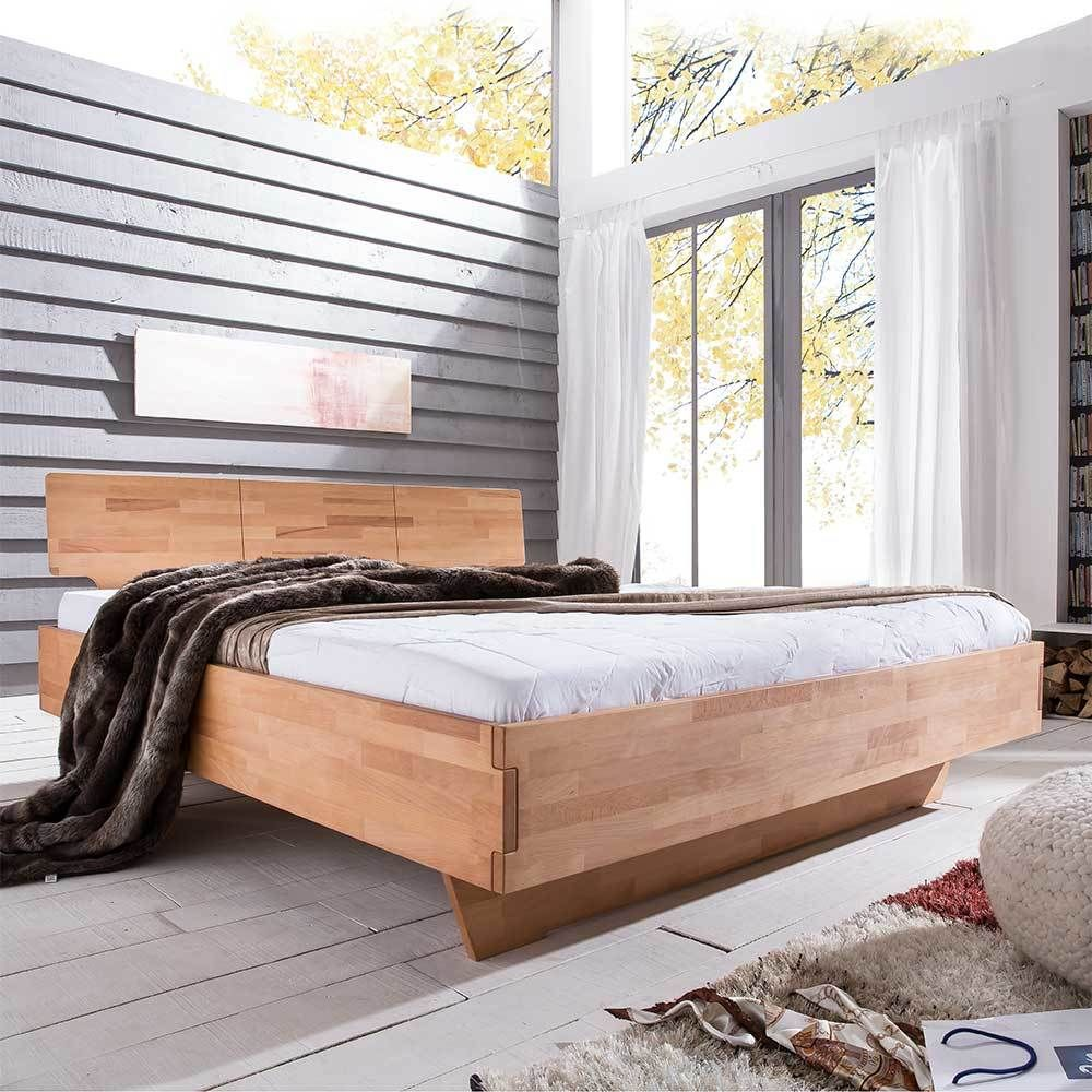 Schlafzimmer Betten Komforthohe 2 #16: Bett Mit Komforthöhe Kernbuche Massivholz Jetzt Bestellen Unter: ...