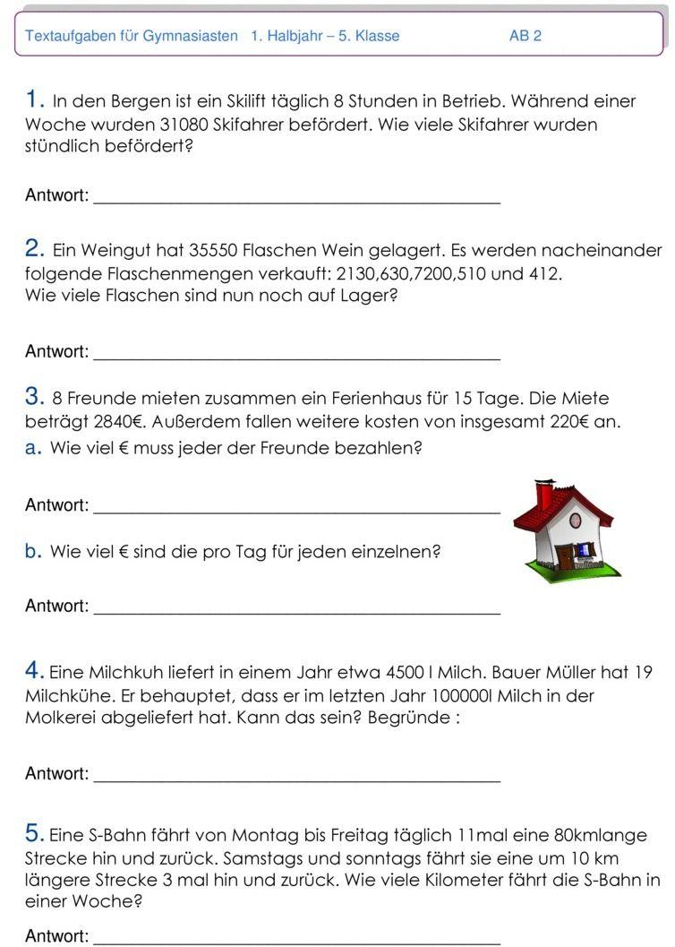 Übungsblatt zu Textaufgaben und Zweisatz | Matemática | Pinterest ...