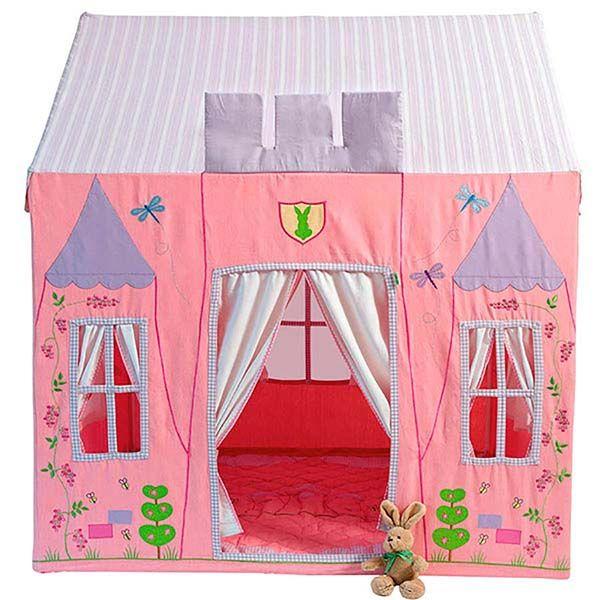 Casitas_de_tela_Win_Green_Princesas_PintandoUnaMama | Casa