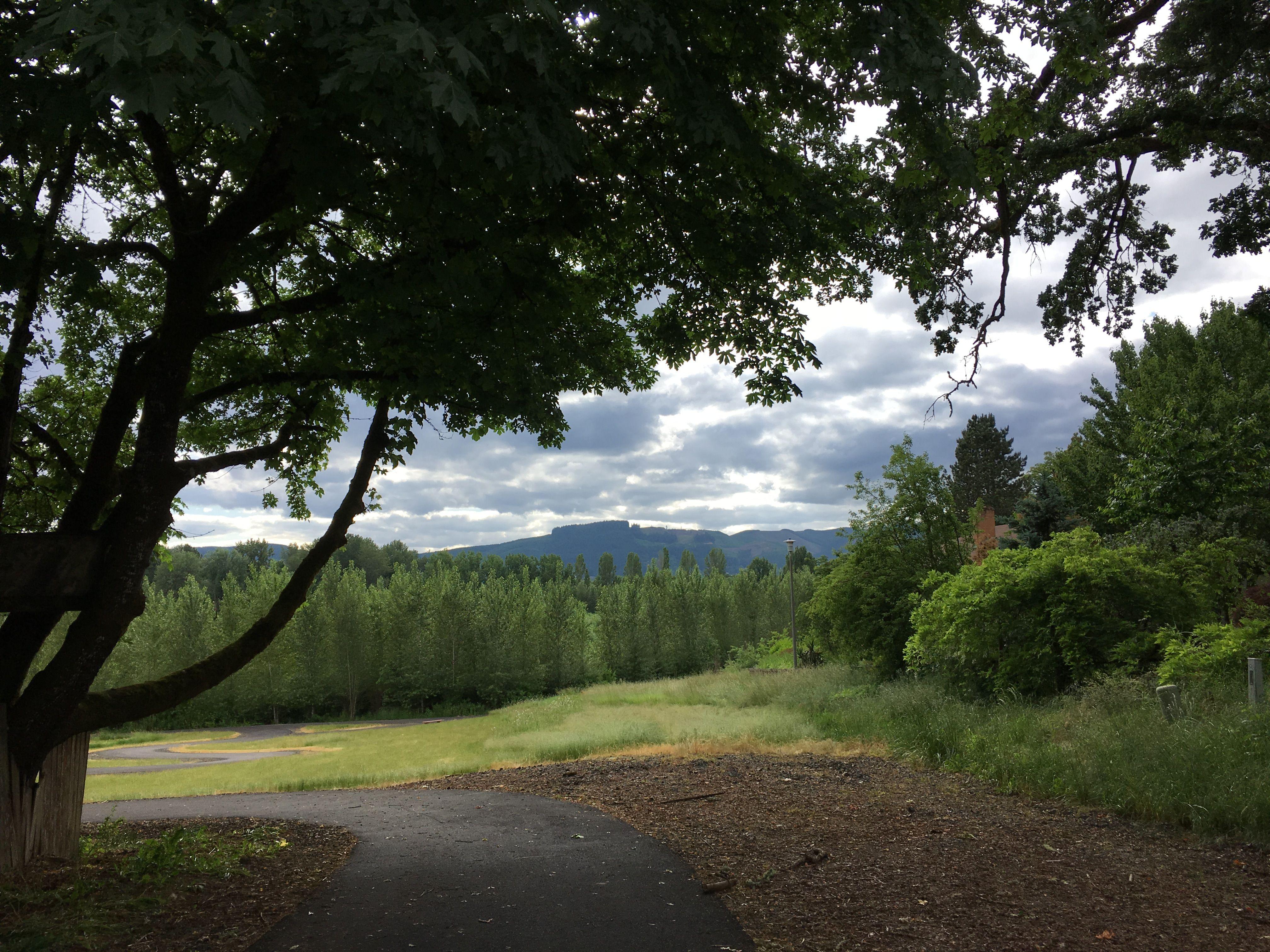 B Street Walking Trail Forest Grove, Oregon Scenery