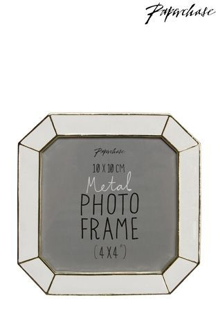Buy Paperchase Pavia White Photo Frame 4x4 from the Next UK online ...